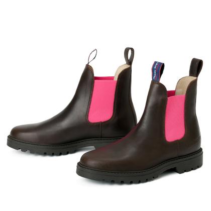 blue heeler Damenschuh | Boots / JACKAROO braun | pink