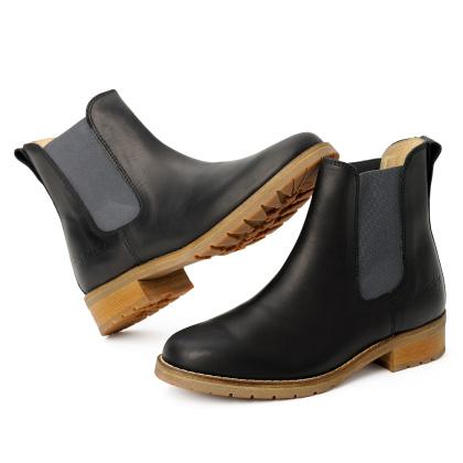 blue heeler Damenschuh | Boots / JOSSLYN schwarz | grau