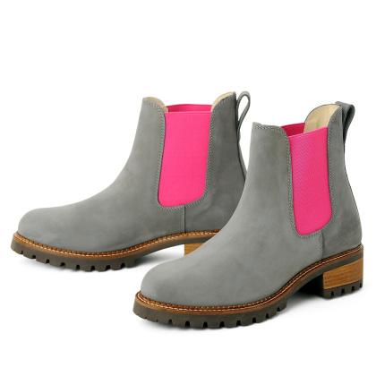 blue heeler Damenschuh | Boots / PASH grau pink