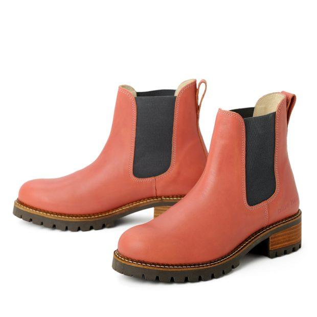 blue heeler Damenschuh | Boots / PASH  pink | grau