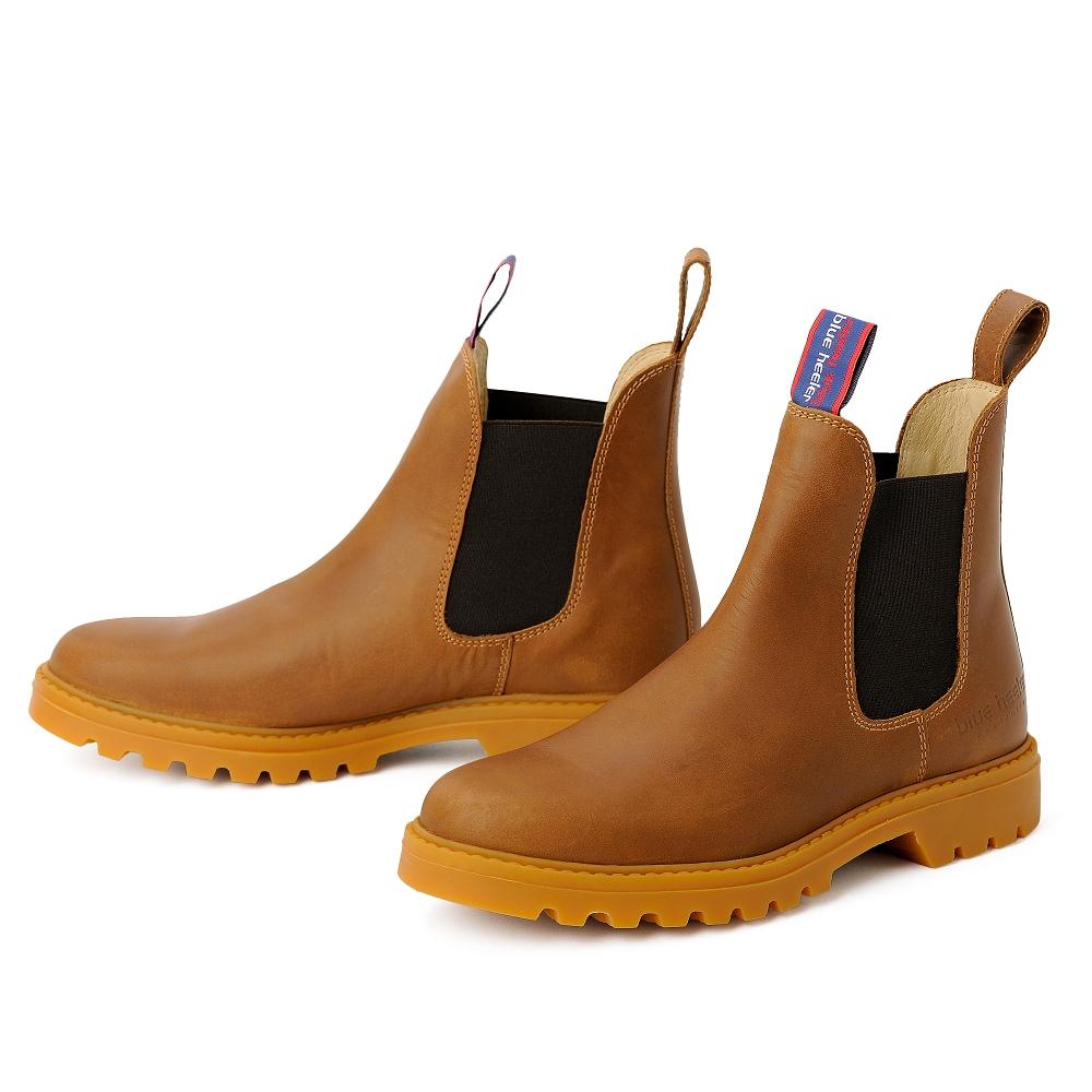 blue heeler Damenschuh | Boots / SYDNEY cognac
