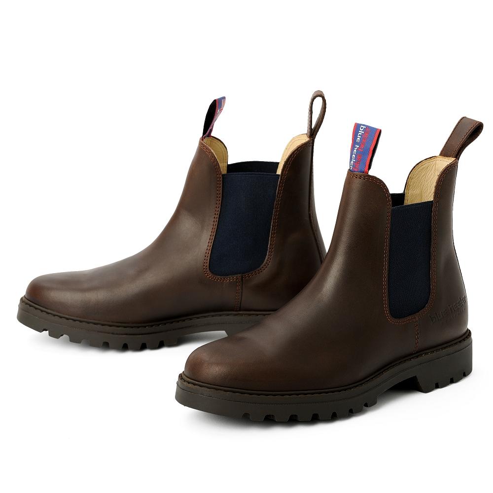 blue heeler Herrenschuh | Boots / JACKAROO braun | blau