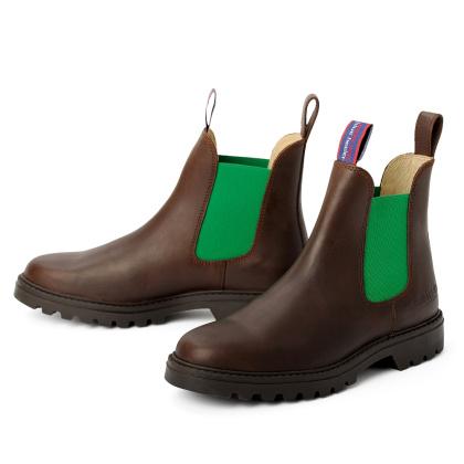 blue heeler Herrenschuh | Boots / JACKAROO braun | grün