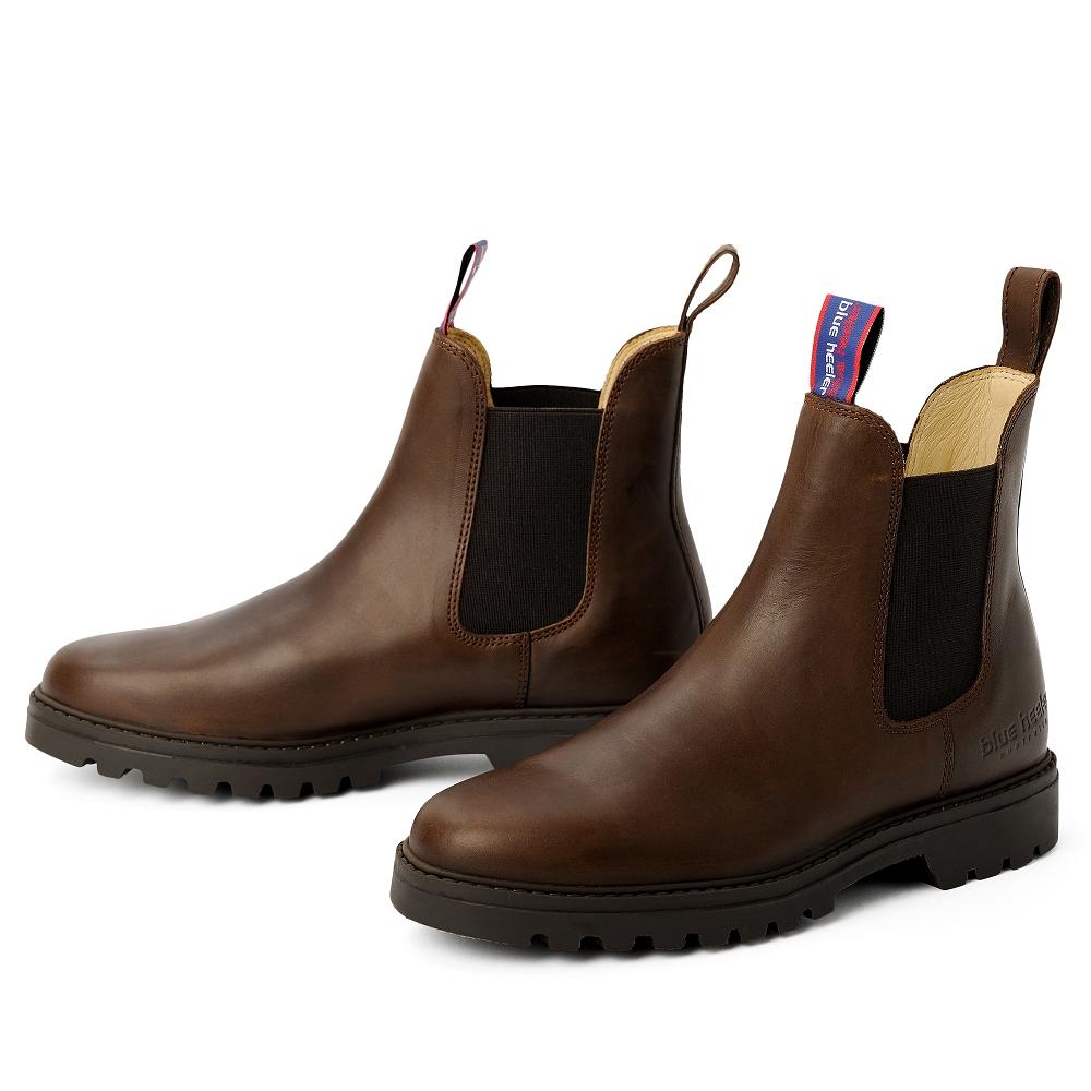blue heeler Herrenschuh   Boots / JACKAROO braun