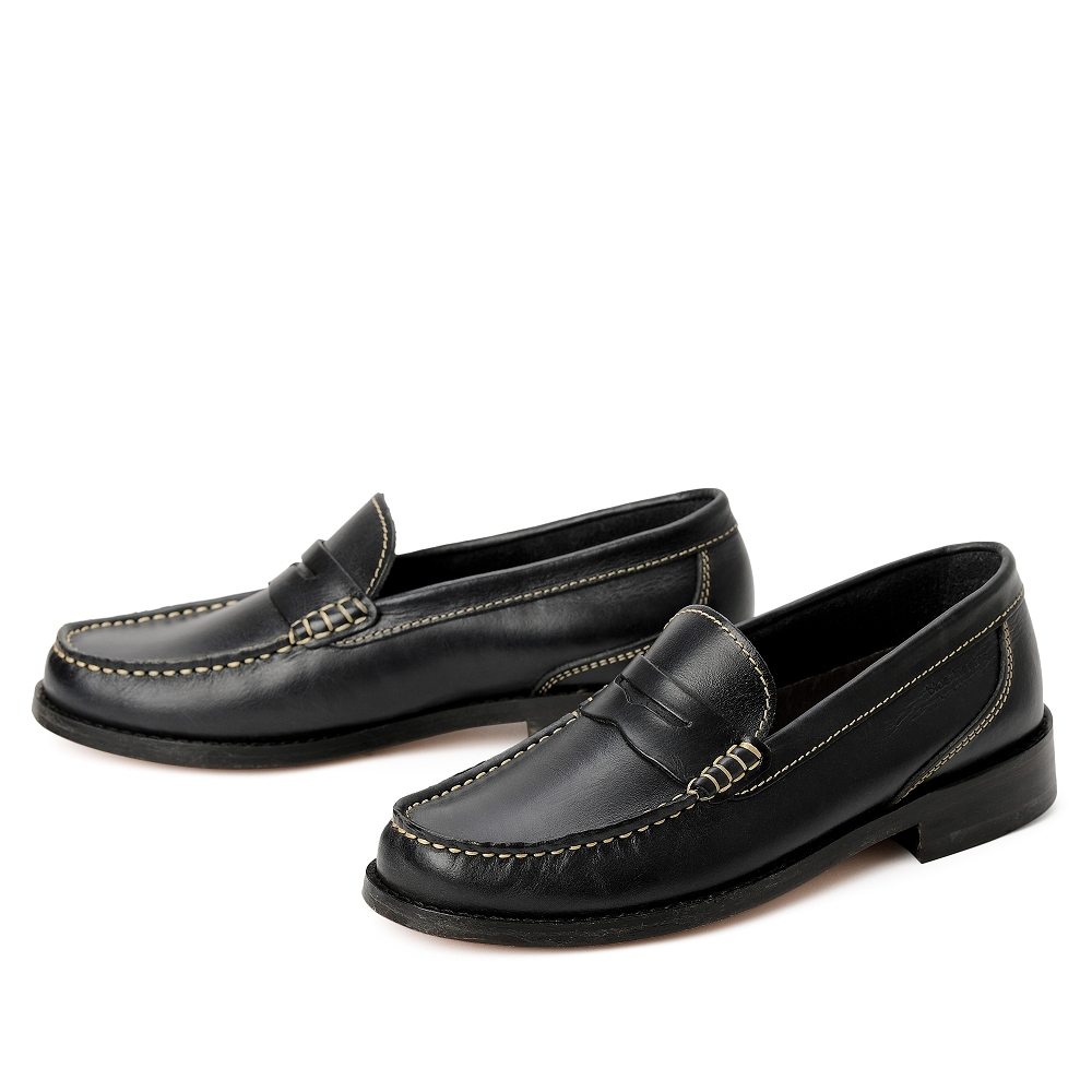 blue heeler Herrenschuh | Penny-Loafers / NEWSHORE marine