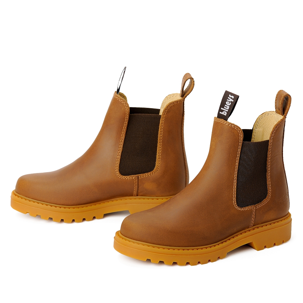 blue heeler Kinderschuh   Boots / SYDNEY cognac