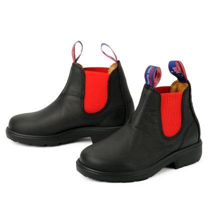 blue heeler Kinderschuh | Boots / TASMAN DEVIL schwarz | rot