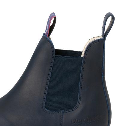Damen Boots Stiefeletten Chelsea Blau Meryl&Matt Leder Rutschfest 10