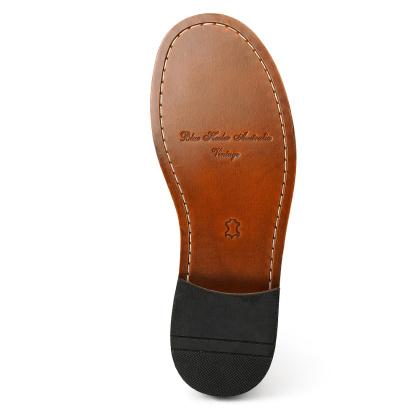 Damen Boots Stiefeletten Chelsea Braun Windsor Handgenaeht Ledersohle 01