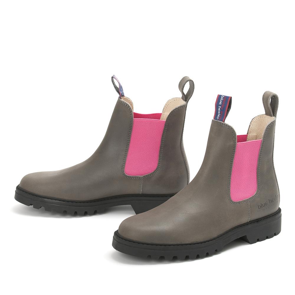 d8d08146fbb8 JACKAROO grau   pink   Australian Boots online kaufen!