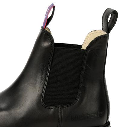 Damen Boots Stiefeletten Chelsea Schwarz Jackaroo Leder Rutschfest 10