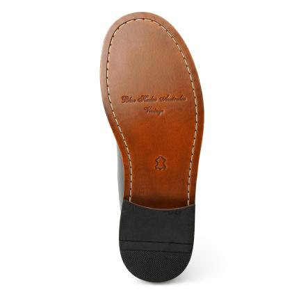 Damen Boots Stiefeletten Chelsea Schwarz Windsor Handgenaeht Ledersohle 01