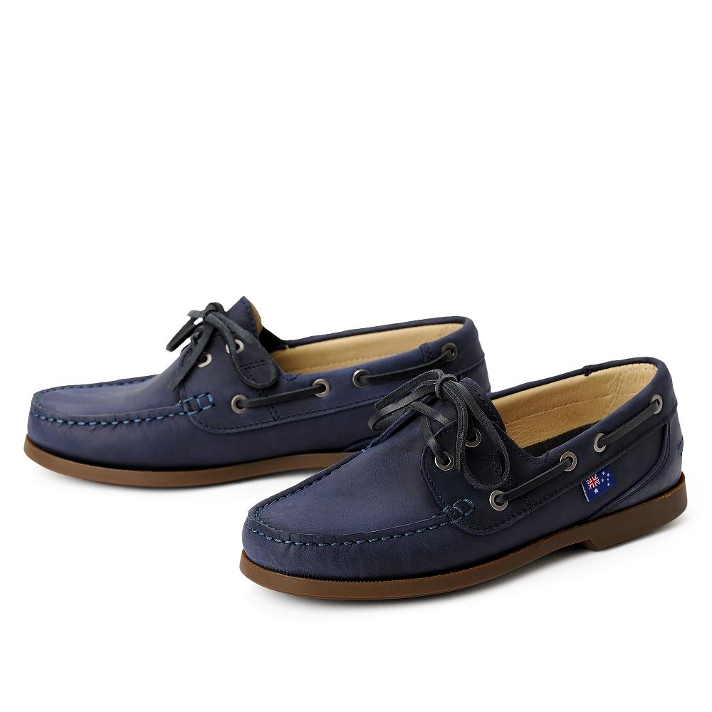 best cheap 5026c adfae damen-segelschuhe-docksiders-bootsschuhe-blau-sailorette ...