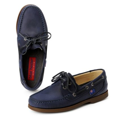 blue heeler Damenschuh / Segelschuh / SAILORETTE blau