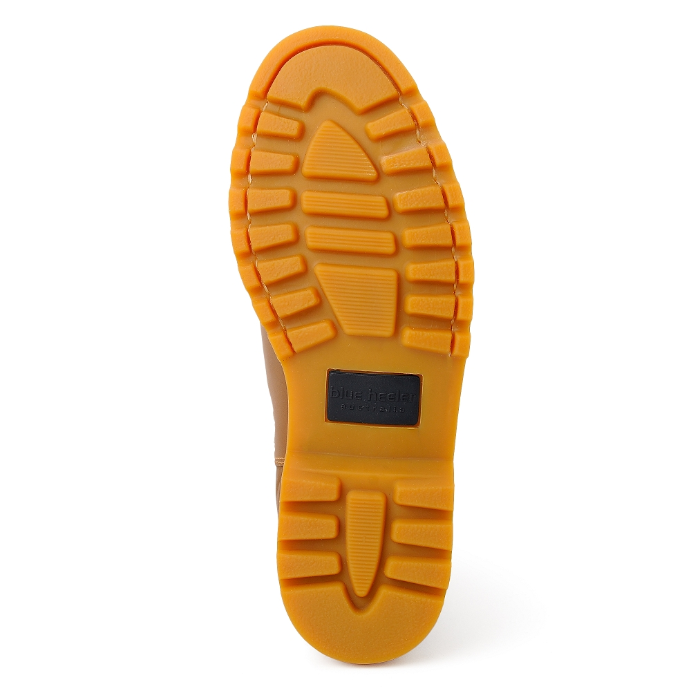 bab38f47a1f0c8 Herren Boots Stiefeletten Chelsea Cognac Sydney Leder Rutschfest 01 ...