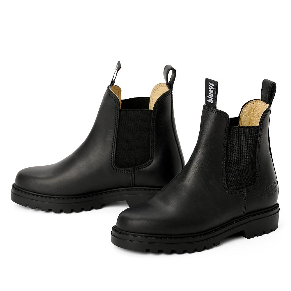 blue heeler Herrenschuh   Boots / JACKAROO schwarz