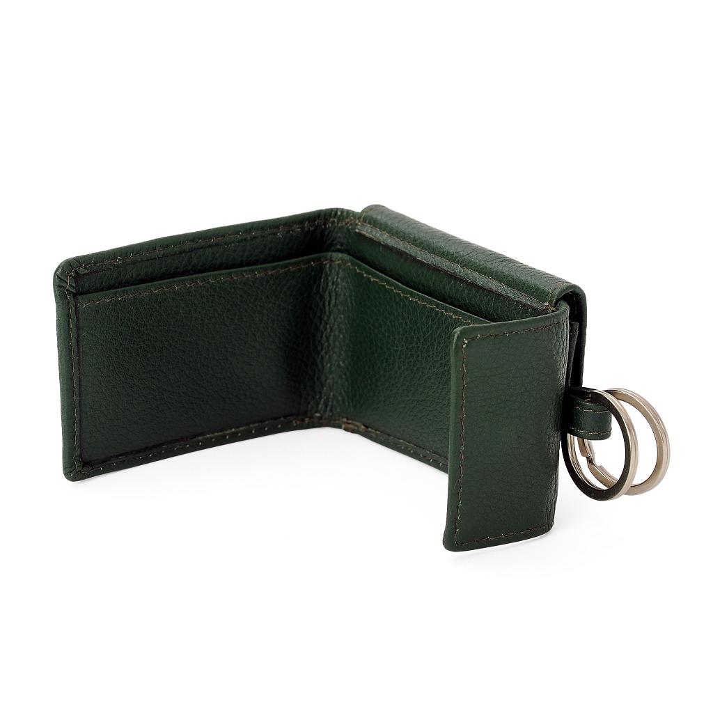 db425c8aab3e1 Leder-Portemonnaie mit Schlüsselring dunkelgrün – Australian Boots ...