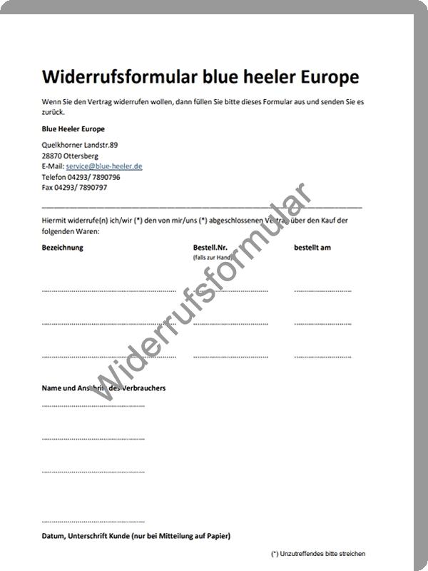 Widerrufsformular Blue Heeler Web 180710